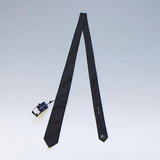 RALPH LAUREN BLACK LABEL ラルフローレン ブラックレーベル シルク織り柄レジメンタルネクタイ HAND MADE IN ITALY ブラック ¥10,800(税込)
