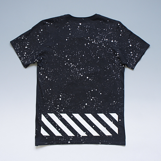 NIKE HAZARDOUS SPECKLE TEE ナイキ ペイントグラフィックTシャツ ブラック ¥7,900(税込)
