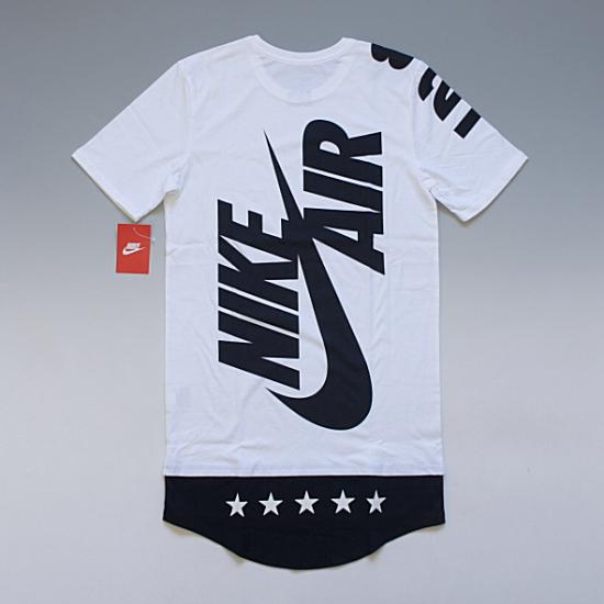 NIKE LEGENDARY LENGTHS TEE ナイキ ロングレングス バックプリントTシャツ ホワイト ¥9,100(税込)