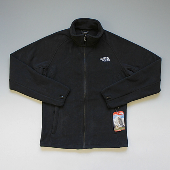 THE NORTH FACE ノースフェイス SAMLET JACKET フルジップフリースジャケット ブラック ¥13,300(税込)