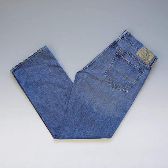 POLO RalphLauren ポロ・ラルフローレン CLASSIC867FIT ストレートジーンズ ウォッシュ(布パッチ) ¥7,300(税込)