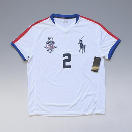 POLO SPORT RALPH LAUREN ポロスポーツ ラルフローレン サッカーゲームシャツ トリコロール ¥6,500(税込)